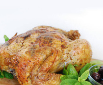 Greek Roast Chicken by FamilySpice.com