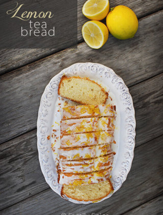 A Refreshing Lemon Tea Bread