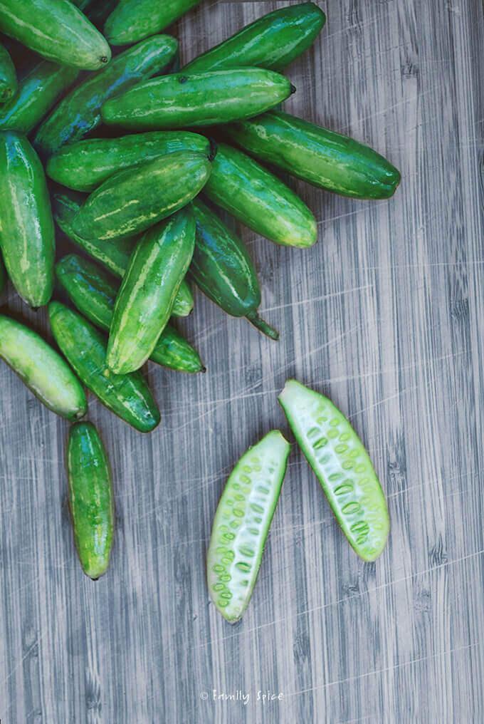 Tindora Cucumbers by FamilySpice.com