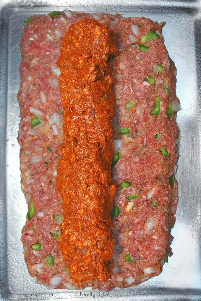 Making Chorizo Meatloaf by FamilySpice.com