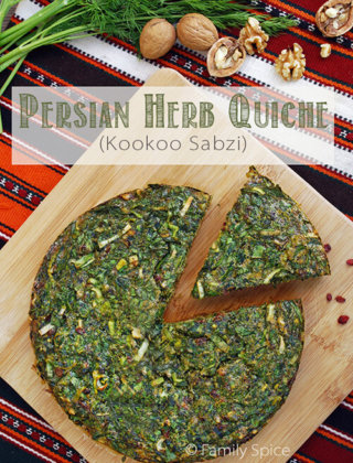 The Persian New Year (Norouz) and Kookoo Sabzi