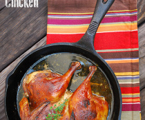 Black Ale Marinated Spatchcocked Chicken by FamilySpice.com
