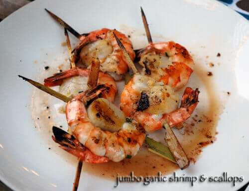 Grilled Shrimp and Scallops by FamilySpice.com