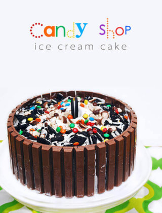 Candy Shop Kit Kat Ice Cream Cake