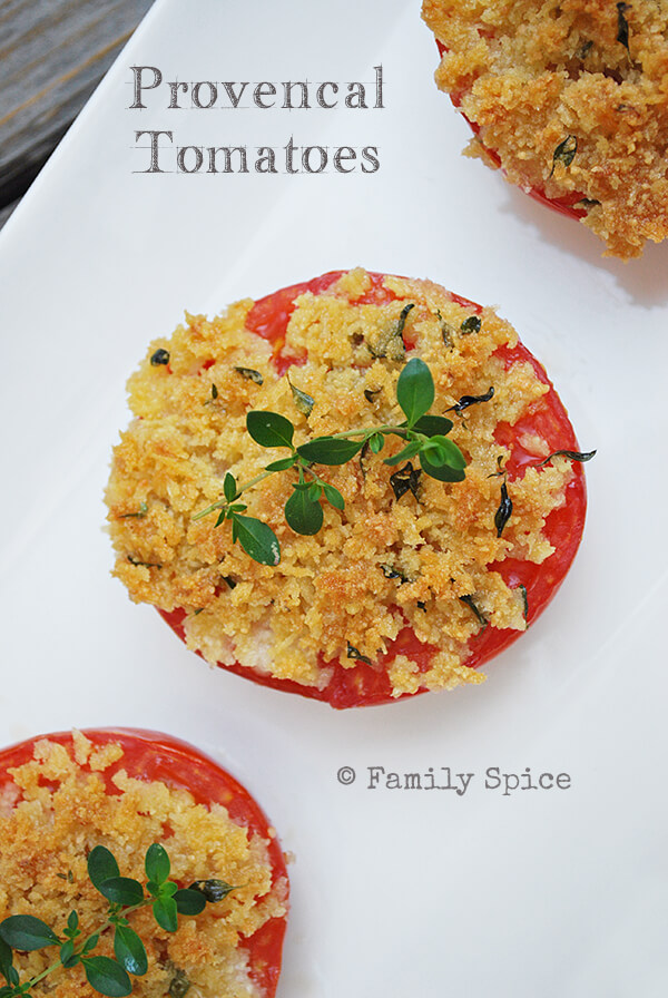 Provencal Tomatoes - Family Spice