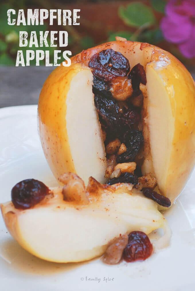 Campfire Baked Apples by FamilySpice.com