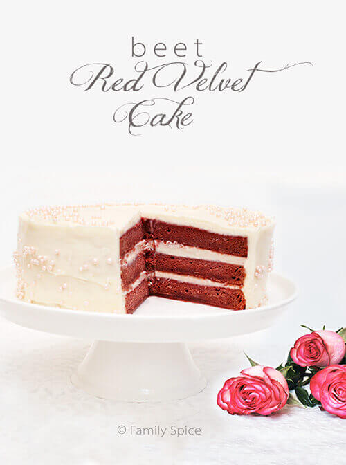 A Beet Red Velvet Cake For My Pink Princess