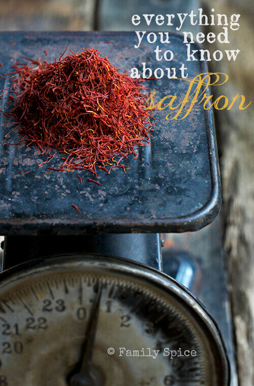 The Joys of Saffron: Everything you need to know about saffron