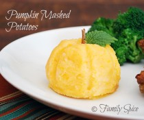 Pumpkin Mashed Potatoes by FamilySpice.com
