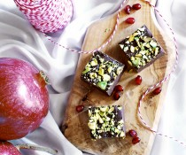 Pomegranate Fudge by FamilySpice.com