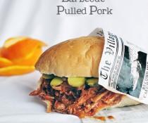 Orange Barbecue Pulled Pork Sandwich by FamilySpice.com