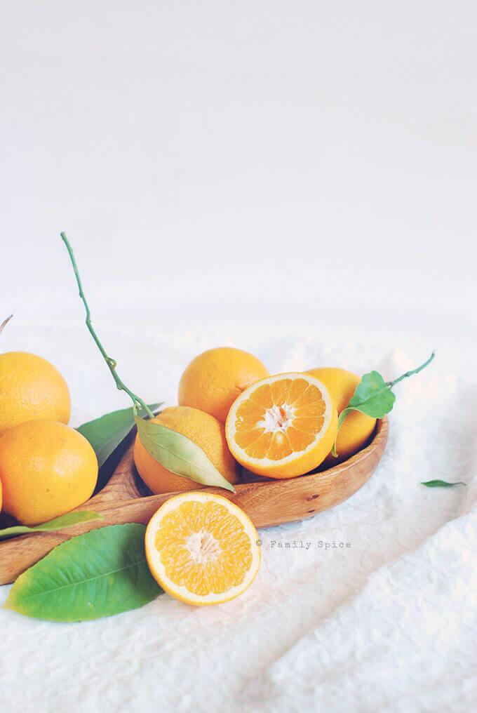 Valencia Oranges by FamilySpice.com