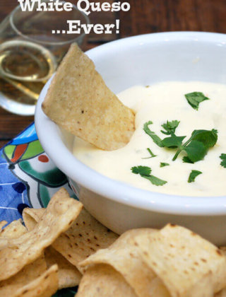 The Easiest Two Ingredient White Queso