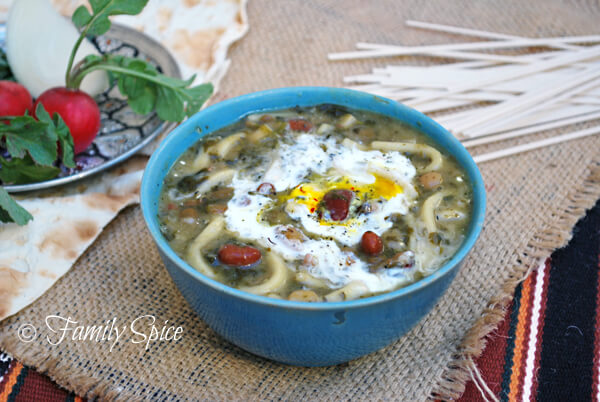 Persian New Year's Soup With Beans, Noodles, And Herbs Recipes ...