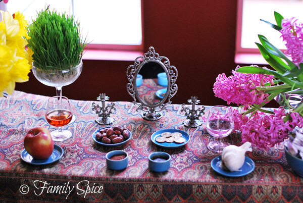 Haft Sin for Norouz (Persian New Year)
