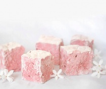 Pomegranate Marshmallows by FamilySpice.com
