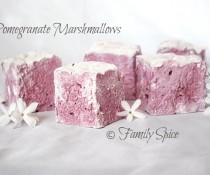 Pomegranate Marshmallows