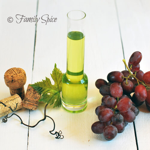 A Lesson on Oils: Grape Seed Oil