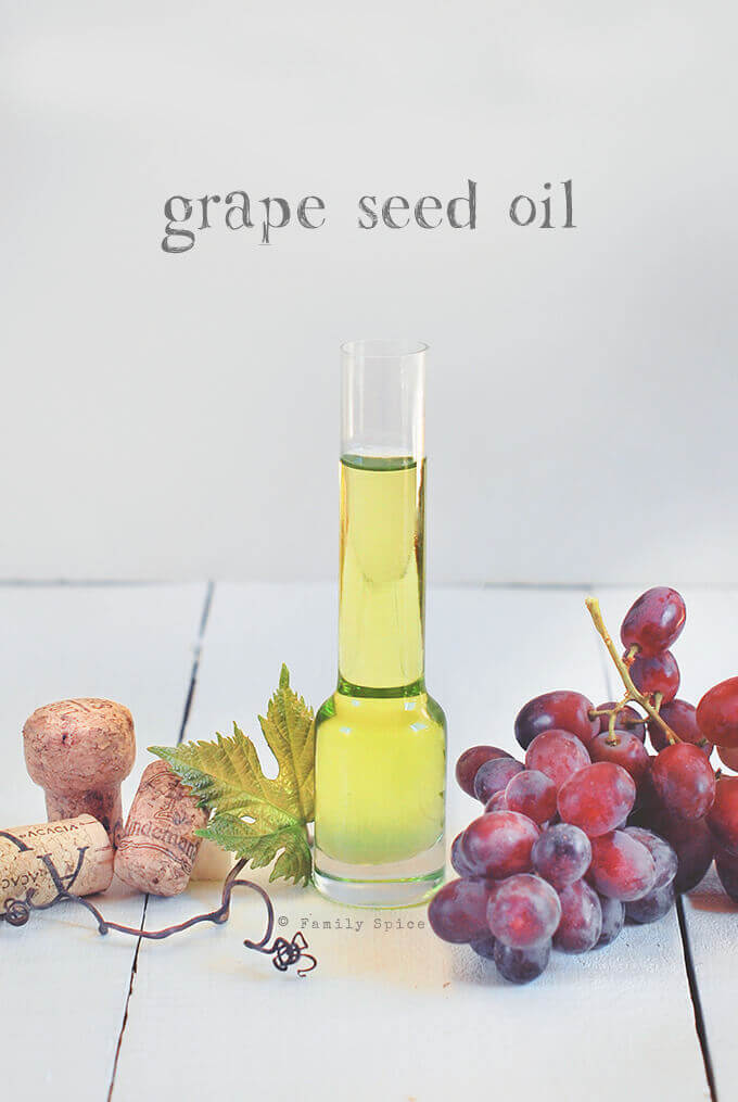 Grape seed oil by FamilySpice.com