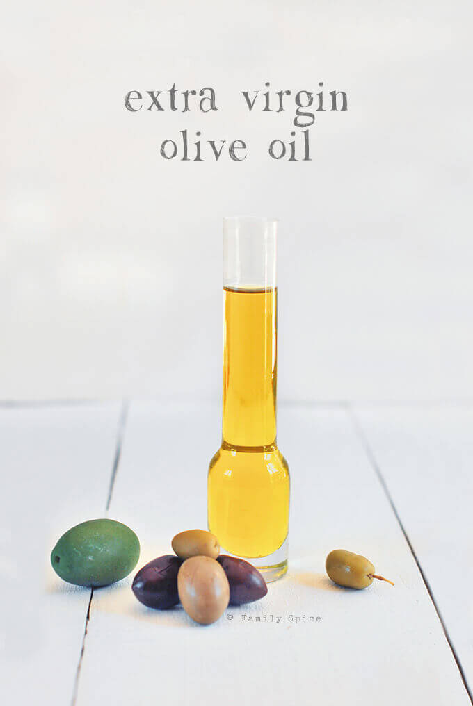Extra Virgin Olive Oil by FamilySpice.com