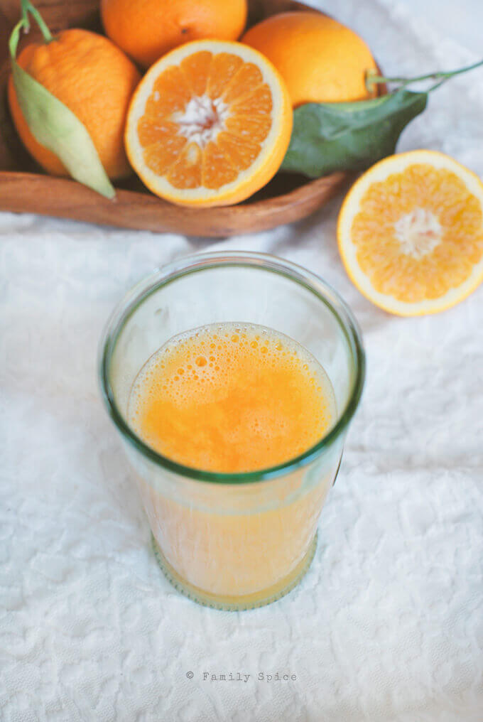 A Glass of Orange Juice by FamilySpice.com