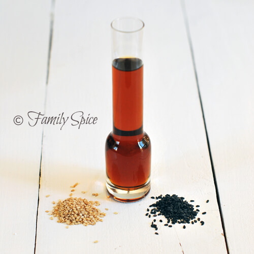 A Lesson on Oils: Sesame Oil by FamilySpice.com