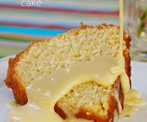 Silky Vanilla Pastry Cream with Sponge Cake by FamilySpice.com