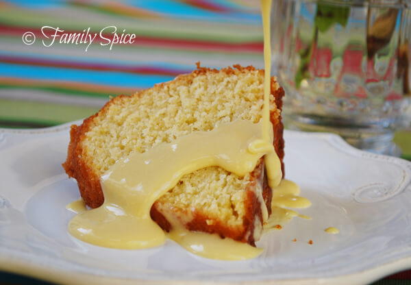 Silky Vanilla Pastry Cream with Sponge Cake