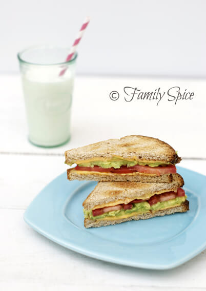 The California Grilled Cheese with Avocado