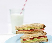 California Grilled Cheese with Avocado by FamilySpice.com
