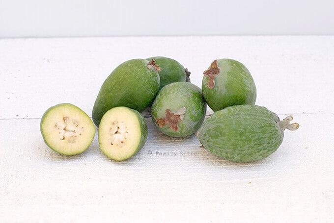 Feijoa (Pineapple Guava) by FamilySpice.com