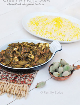 Green Almond Stew (Khorest-eh Chagaleh Badam)