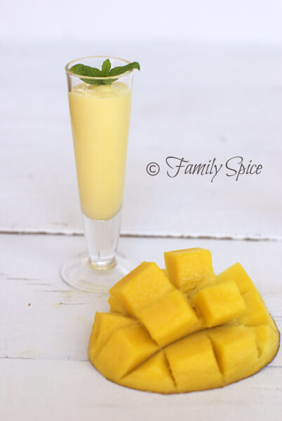 Mango Recipe: Mango Rum Smoothie Shots