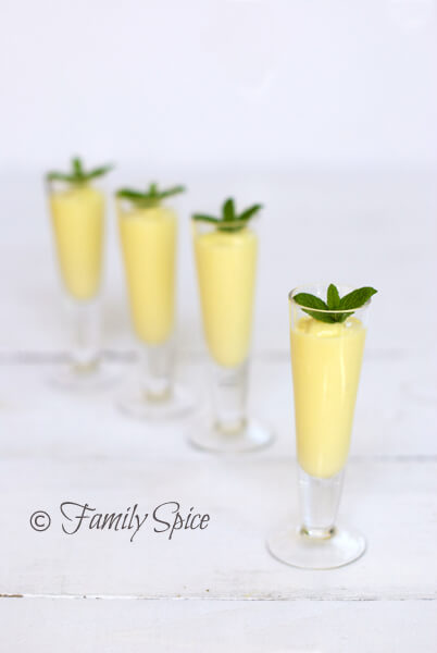 Mango Recipes: Mango Rum Smoothie Shots