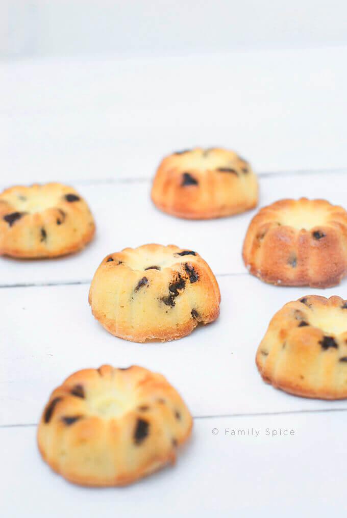 Saffron Raisin Pound Cake by FamilySpice.com