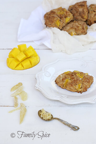 Mango Recipes: Whole Wheat Mango Scones