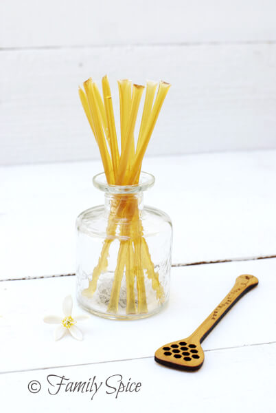 Baking with Honey: Honey Sticks