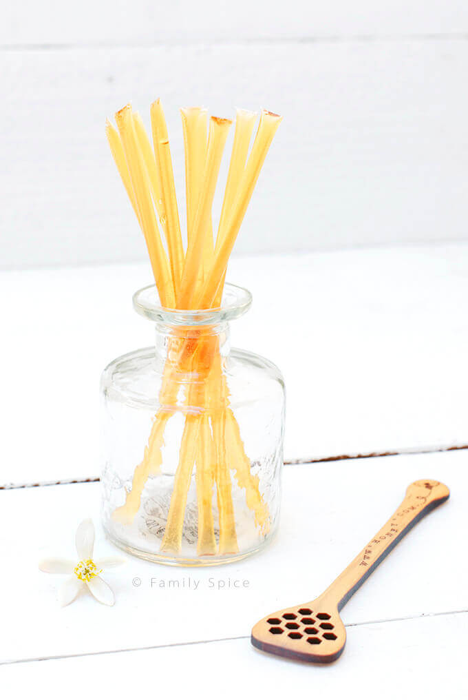 Honey Sticks by FamilySpice.com