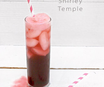 The Pomegranate Shirley Temple by FamilySpice.com