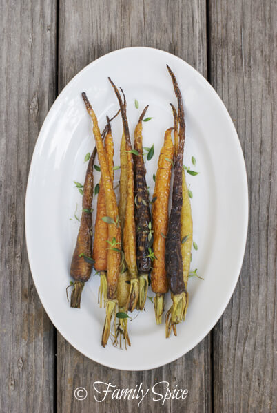 Farm To Table: Roasted Baby Carrots with Thyme