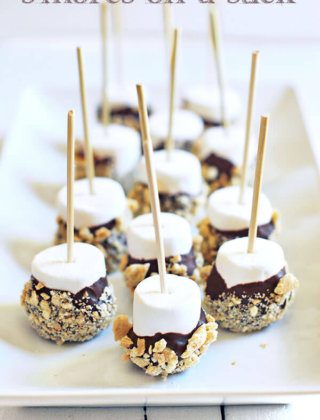 Summer Inspiration: S'Mores on a Stick!