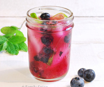 Blueberry Mojito by FamilySpice.com