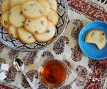 Persian Saffron Cookies