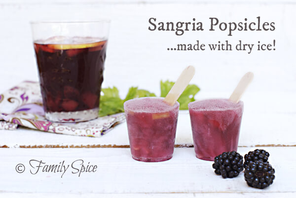 Red Wine Sangria Popsicles