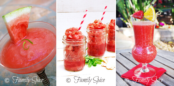 watermelon recipes by FamilySpice.com