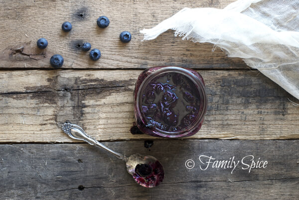 Blueberry Jam with Brown Sugar