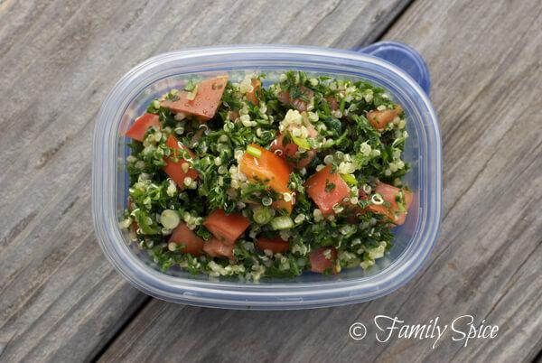 Quinoa Tabouleh by FamilySpice.com