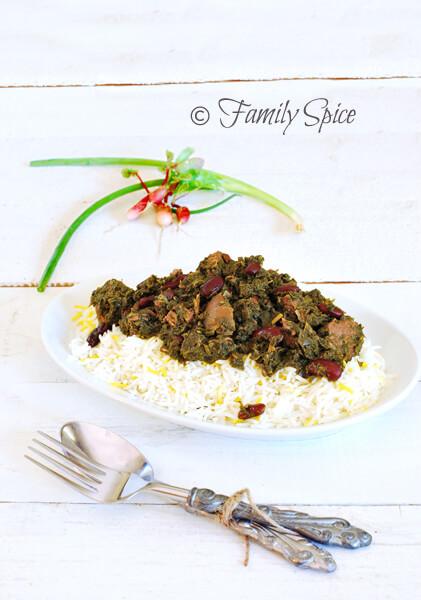 Khoresht-eh Gormeh Sabzi (Persian Herb Stew)