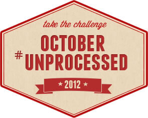 Take the October #Unprocessed Challenge!