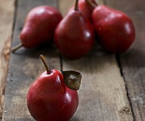 Autumn's Bounty: Red Pears